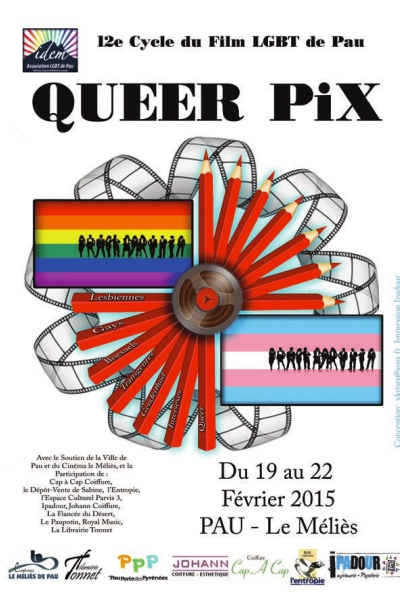 Queer Pix, homosexualité, transidentité, cinéma, Pau
